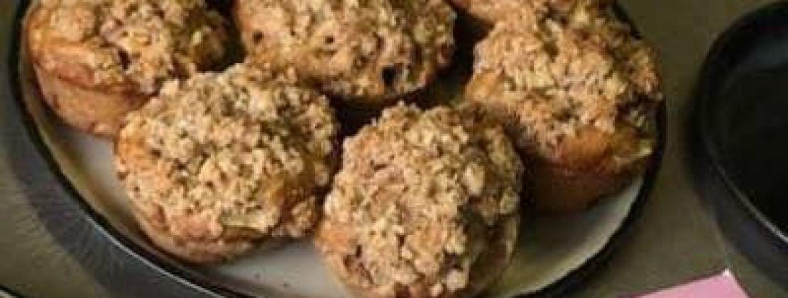 Afbeelding van Muffins met appel en crumble-topping